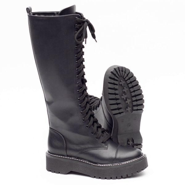 Coturno feminino tratorado preto online site shoes to love moda 2020 inverno (4)