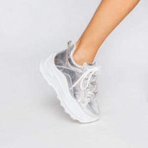 tenis-sneaker-chunky-prata-silver-fivelas-verão-2021-shoes-to-love-loja-online-calçados-femininos-tendencias